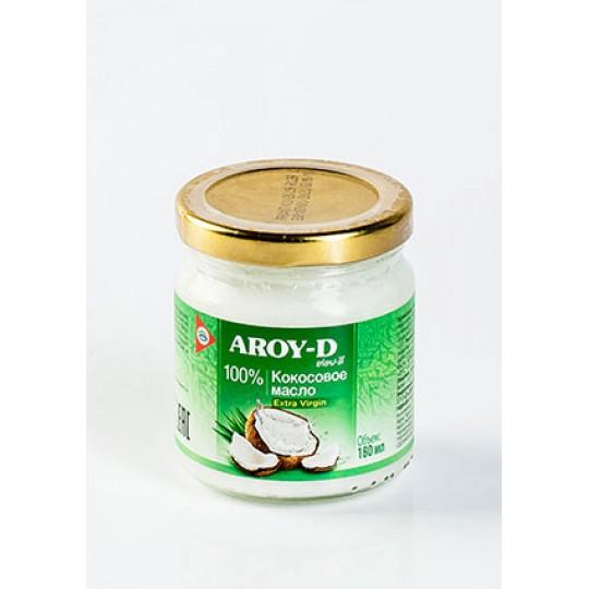 100% Кокосовое масло (extra virgin) AROY-D, 180 мл (До 02.12. 2021)