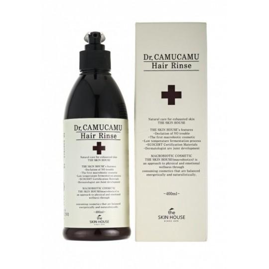 Лечебный бальзам для волос The Skin House DR. Camucamu hair rinse, 400мл.