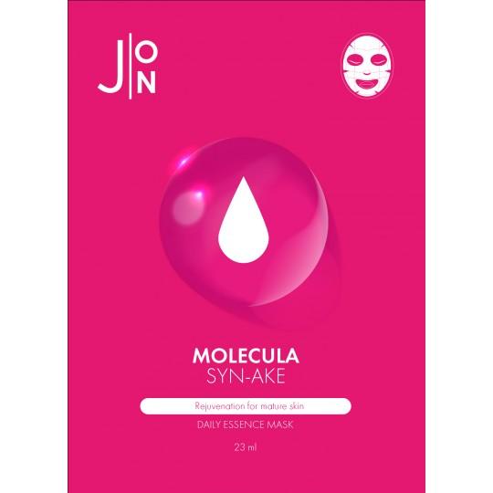 Тканевая маска для лица ЗМЕИНЫЙ ПЕПТИД J:ON MOLECULA SYN-AKE DAILY ESSENCE MASK, 23 мл