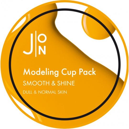 Альгинатная маска ГЛАДКОСТЬ И СИЯНИЕ J:ON SMOOTH & SHINE MODELING PACK, 18гр (06.11.2021)