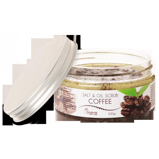 Масляный солевой скраб КОФЕ Ceano Salt & Oil Scrub Coffee, 300мл