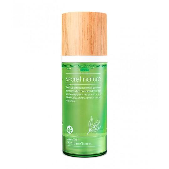 Гидрофильное масло-пенка с зеленым чаем , 100мл