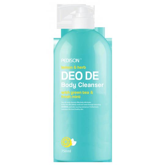 ГЕЛЬ для душа ЛИМОН/МЯТА EVAS Pedison DEO DE Body Cleanser, 750 мл