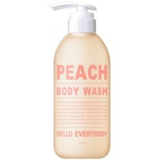 Гель для душа с персиком Hello Everybody Peach Body Wash, 500мл
