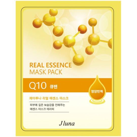 Тканевая маска с коэнзимом Q10 Juno Real Essence Mask Pack Q10, 25мл