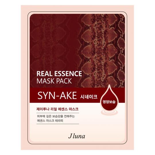 Тканевая маска со змеиным ядом Juno Real Essence Mask Pack Syn-Ake, 25мл