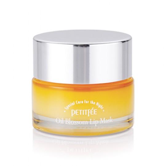 Маска для губ с витамином Е и маслом облепихи Oil Blossom Lip Mask (Sea Buckthorn oil)