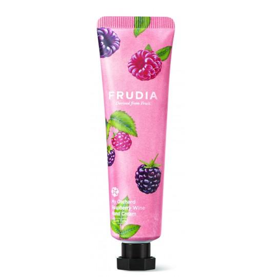 Крем для рук с дикой малиной Frudia Squeeze Therapy Raspberry Wine Hand Cream, 30мл