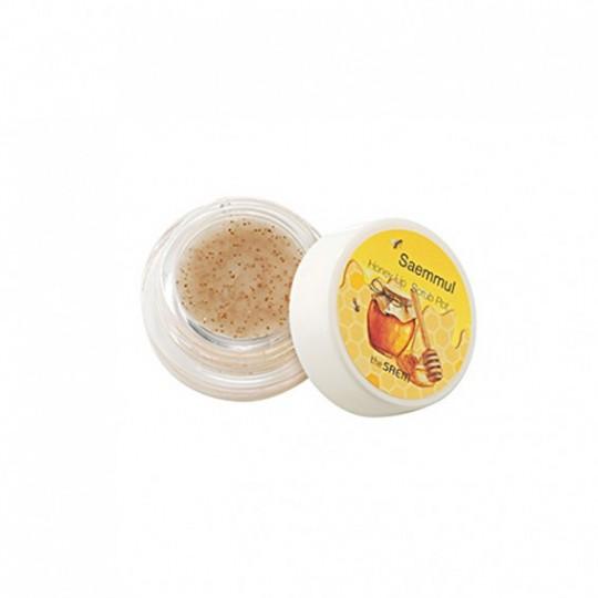 Скраб для губ медовый в баночке Saemmul Honey Lip Scrub Pot 7гр