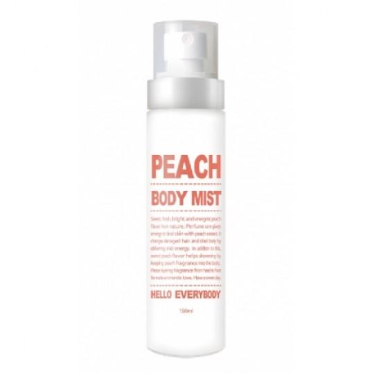 Увлажняющий мист для тела с персиком Peach Body Mist, 150мл